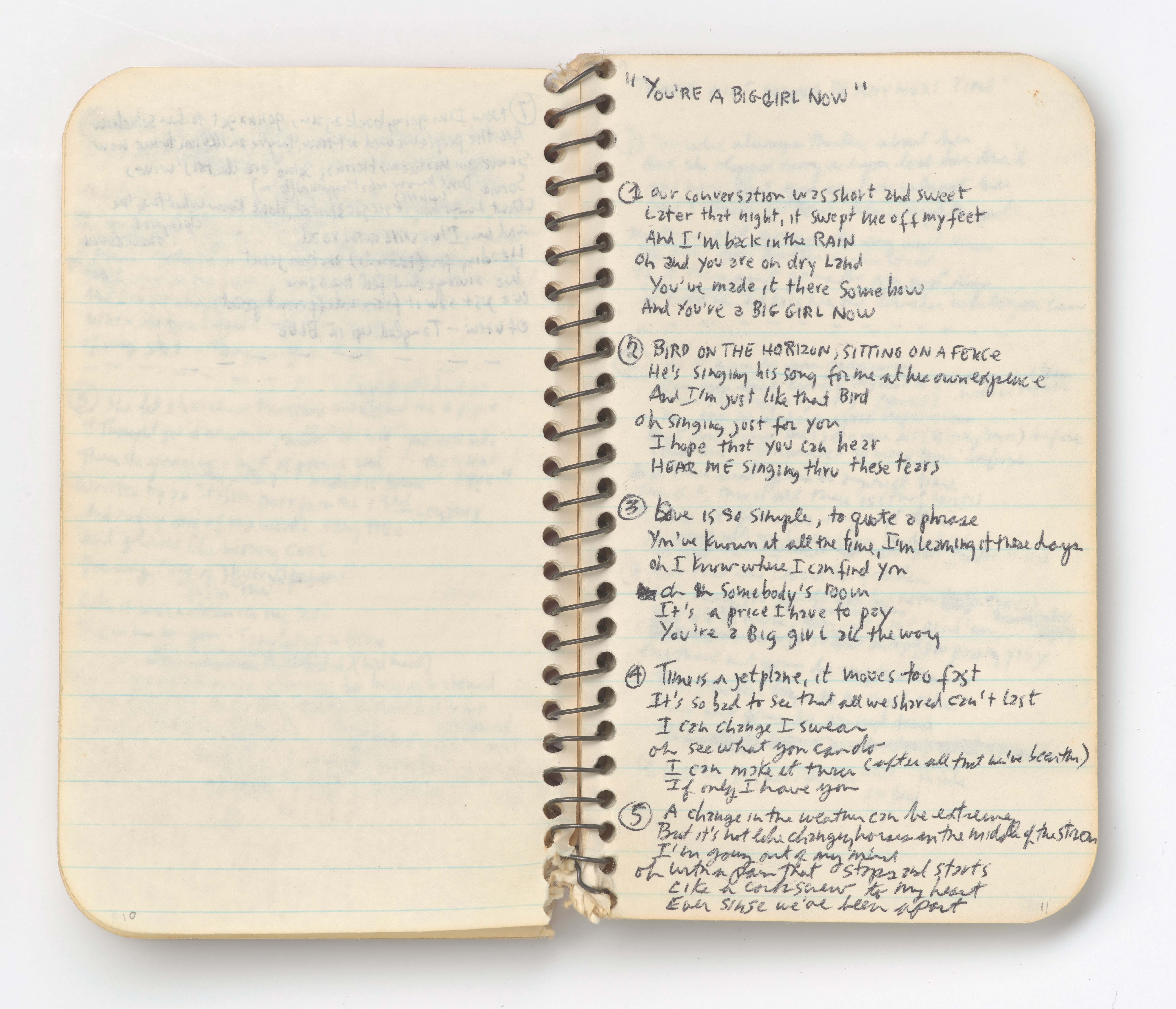 Bob Dylan Blood On The Tracks Replica/Frame/CD/disque/dor B
